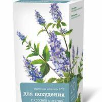 Подробнее: Фиточай «Алтай» №3 «Для похудения с кассией и мятой»