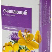 Подробнее: Фиточай «Алтай»  «Очищающий с расторопшей»