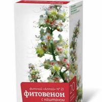 Подробнее: Фиточай «Алтай» №23 «Фитовенон с каштаном»